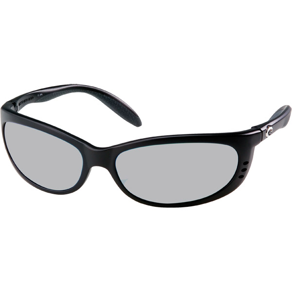Fathom Sunglasses, Matte Black/silver Frames with Costa 580 Silver Mirror Glass Lenses Sale $239.00 SKU: 10734028 ID# FA 11 OSCGLP UPC# 97963460347 :