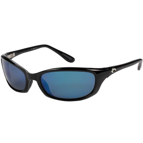 Harpoon Sunglasses, Shiny Black Frames with Costa 580 Black_blue Mirror Glass Lenses Sale $249.00 SKU: 10734036 ID# HR 11 OBMGLP UPC# 97963111683 :