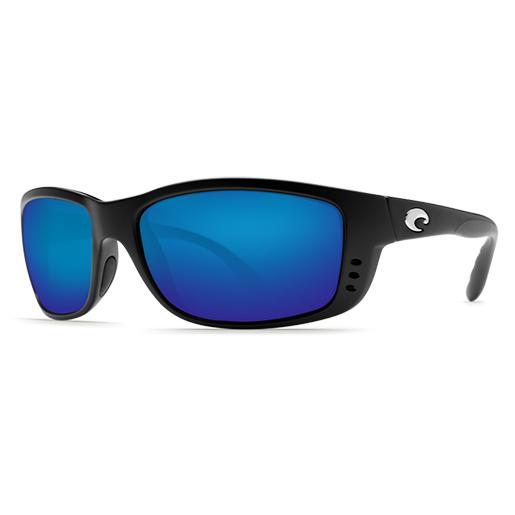 Zane Sunglasses, Matte Black Frames with Costa 400 Black_blue Mirror Glass Lenses Sale $189.00 SKU: 10733913 ID# ZN 11 BMGLP UPC# 97963468442 :