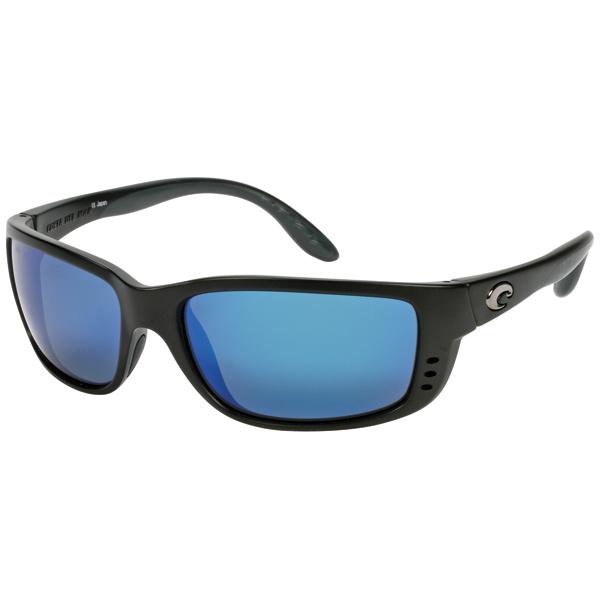 Zane Sunglasses, Matte Black Frames with Costa 580 Black_blue Mirror Glass Lenses Sale $239.00 SKU: 10734119 ID# ZN 11 OBMGLP UPC# 97963468534 :