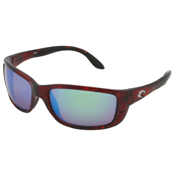 Costa Zane Sunglasses, Shiny Tortoise Frames with 580P Green Mirror Lenses Sale $239.00 SKU: 10734127 ID# ZN 10 OGMGLP UPC# 97963468404 :