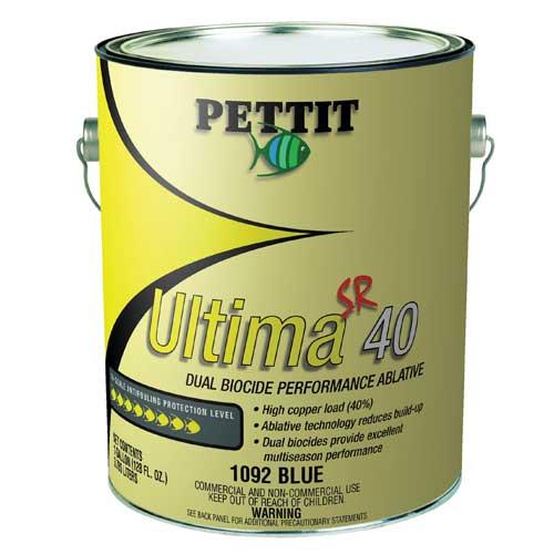 Pettit Paints Ultima SR 40 Paint, Red, Gal