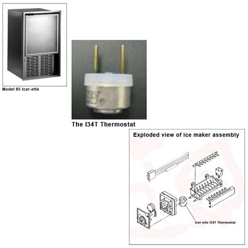 Raritan Replacement Icer-ette Thermostat