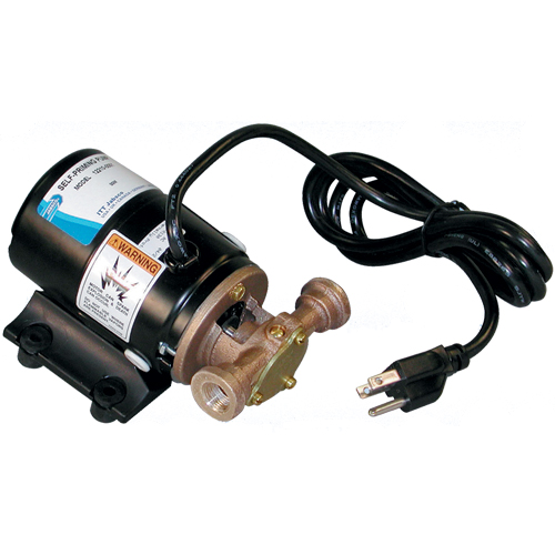 Jabsco 3.4 gpm Pump, 3/8 NPT Ports, 3-5/8H x 4W x 6-7/8L, Neoprene Impeller Sale $389.99 SKU: 107799 ID# 12210-0001 UPC# 671880008556 :