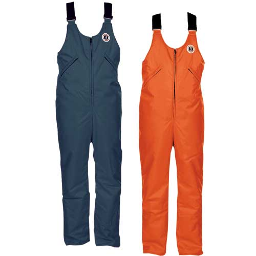 Mustang Survival Classic Flotation Bib Pant, XX Large, Orange