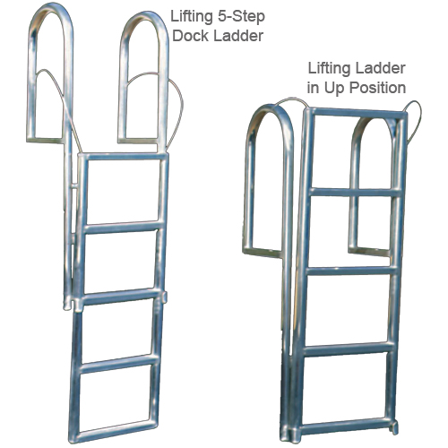 International Dock Lifting Ladder, 4-Step, Wide Rung Sale $219.99 SKU: 10809424 ID# 4LLW UPC# 894406000722 :