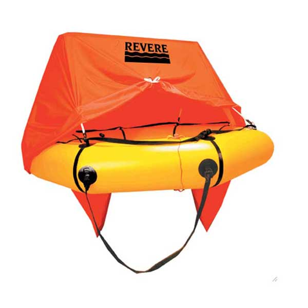 Revere Supply 6-Person Coastal Compact Life Raft with Canopy Sale $1899.00 SKU: 10831071 ID# 45-CC6VP UPC# 812713010050 :
