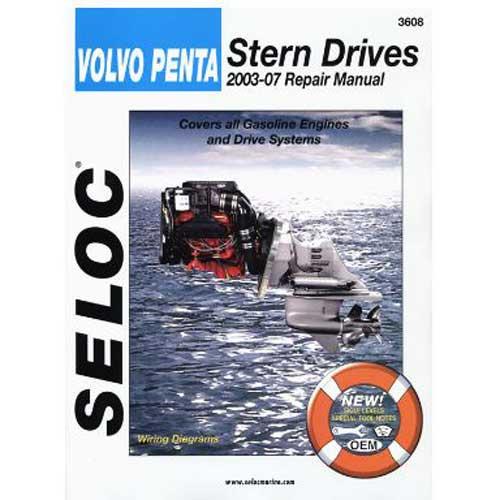 Seloc Marine Repair Manual - Volvo/Penta Stern Drive 2003-07