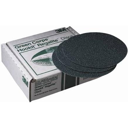 3M Green Corps Hookit Regalite Disc, 00524, 8, 40E