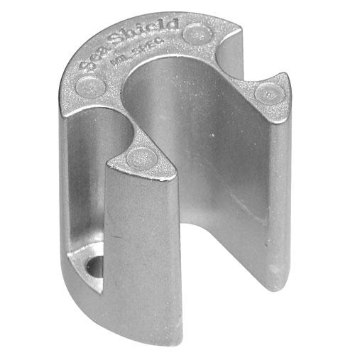Sea Shield Marine Mercury Bravo Ram Anode, Aluminum