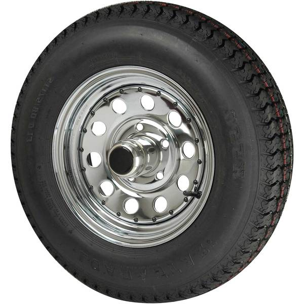 C E Smith Trailer Radial Tire & Wheel, ST/175/80R x 13