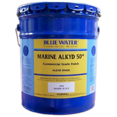 Blue Water Marine Paint ALK Commercial Primer, White, 5 Gal