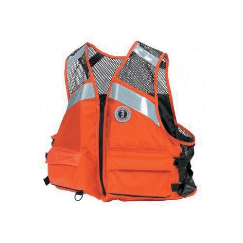 Mustang Survival Industrial Mesh Vest, 2XL/3XL