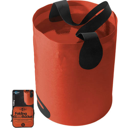Sea To Summit 20-Liter, 5.2-Gallon Folding Water Bucket