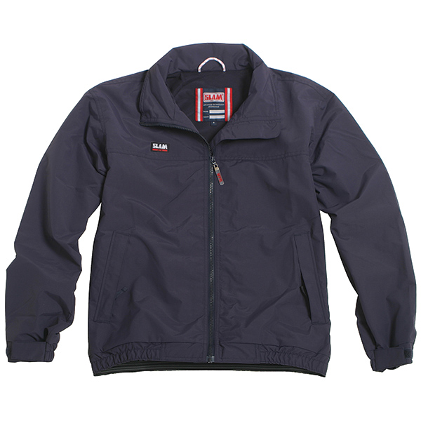 Slam Men's Summer Sailing Jacket, Navy, S