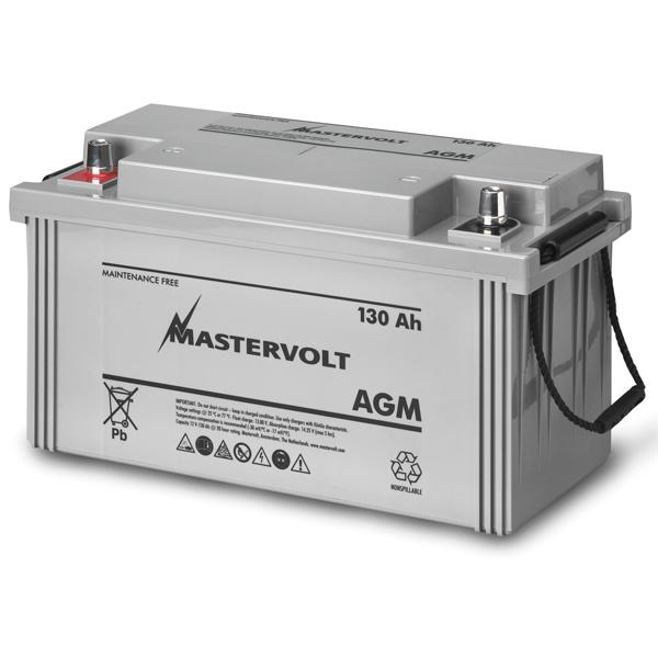 Mastervolt AGM 12/130 12V AGM, Group N/A, 130 Ah, 935 CCA, 16 1/8L x 9W x 7H, Weighs 83lb. Sale $444.99 SKU: 10976397 ID# 62001300 UPC# 852968002189 :