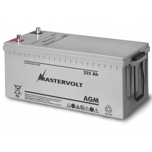 Mastervolt AGM 12/225 12V AGM, Group 8D, 225 Ah, 1300 CCA, 20 5/8L x 9 1/2W x 9 3/8H, Weighs 141lb. Sale $699.99 SKU: 10976413 ID# 62002250 UPC# 852968002202 :