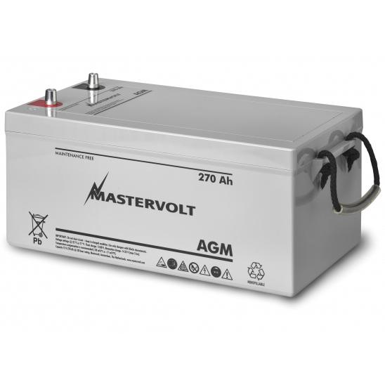 Mastervolt AGM 12/270 12V AGM, Group Super 8D, 270 Ah, 1600 CCA, 20 5/8L x 9 5/8W x 10 5/8H, Weighs 161lb. Sale $849.99 SKU: 10976421 ID# 62002700 UPC# 852968002219 :