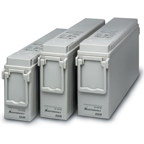 Mastervolt SlimLine Compressed AGM 12/150 Battery, 150Ah, 700A CCA, 22.0L x 4.3W x 11.0H, 89lb. Sale $549.99 SKU: 10976447 ID# 63001500 UPC# 852968002233 :