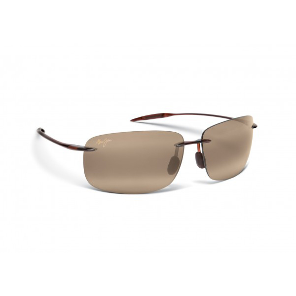 Maui Jim Breakwall Sunglasses, Rootbeer Frames with HCL Bronze Lenses Brown