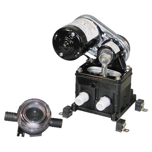 Jabsco Diaphragm Bilge Pumps 5.5gpm, 12-Volt, 10-Amp, 3/4 Port