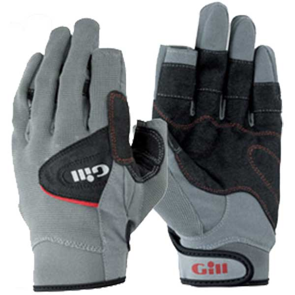 Regatta Deckhand Long-Finger Gloves - Black/Gray - XS