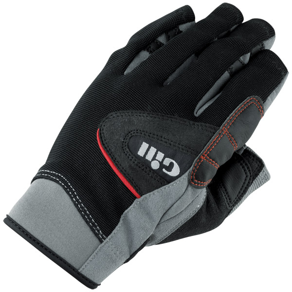 Women's Long-Finger Championship Gloves - Black/Grey - S