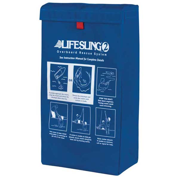 Replacement Storage Bag for Lifesling2, Deluxe, Blue Sunbrella