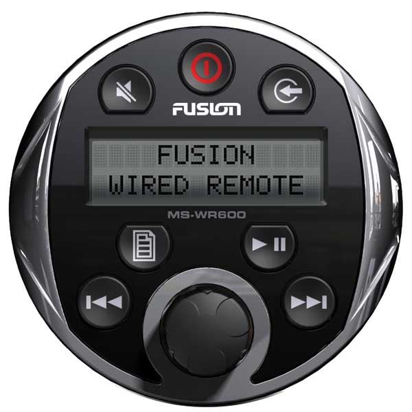 Fusion MS-WR-600C Wired Remote for 600 Series (Chrome) Sale $99.77 SKU: 11013745 ID# MS-WR600C UPC# 878816005331 :
