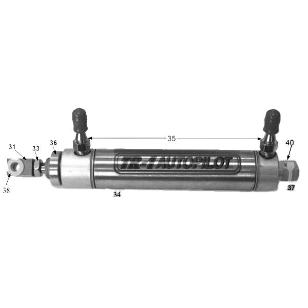 Garmin Gold Steering Cylinder Kit Sale $132.99 SKU: 11014388 ID# 120-0900-00 :