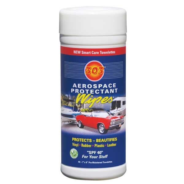 303 Products 303 Aerospace Protectant Wipes Sale $12.99 SKU: 11015195 ID# 30910 UPC# 82043009103 :