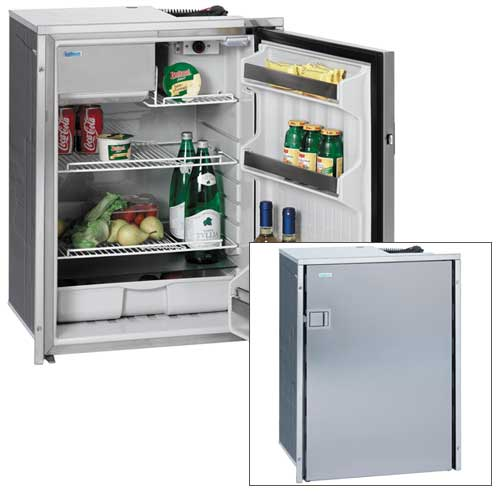 Isotherm CR-49 Standard with Gray Door, 1.7cu.ft. Capacity, 20-3/4H x 15W x 18-1/2D, 2.5A @ 12V DC, 35lb.