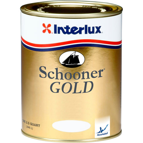 Interlux Schooner Gold Varnish, Qt.