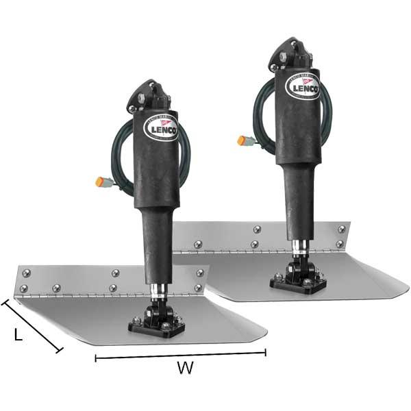 Lenco Marine Standard Mount Trim Tab Kit - 9 x 24