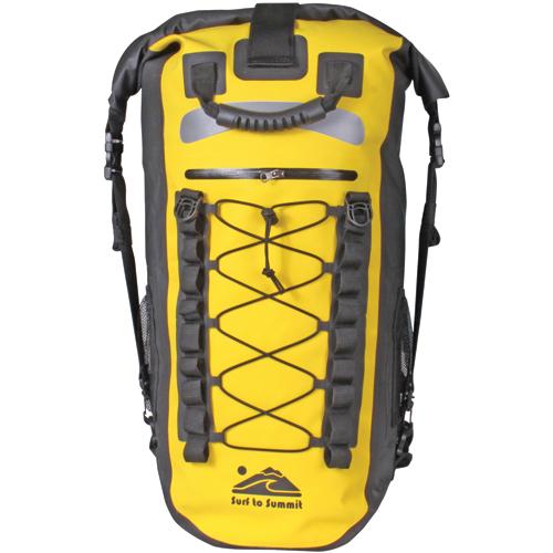 Surf To Summit Inc. Mariner Waterproof Backpack, Yellow
