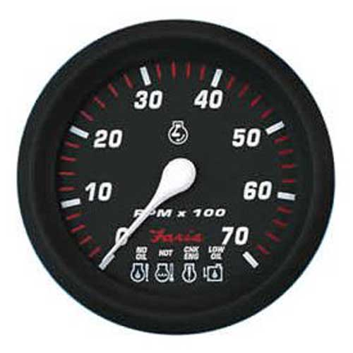 Faria Instruments Tachometer/System Check - Professional Red - 7000 RPM Sale $149.99 SKU: 11057445 ID# 34650 UPC# 759266346505 :