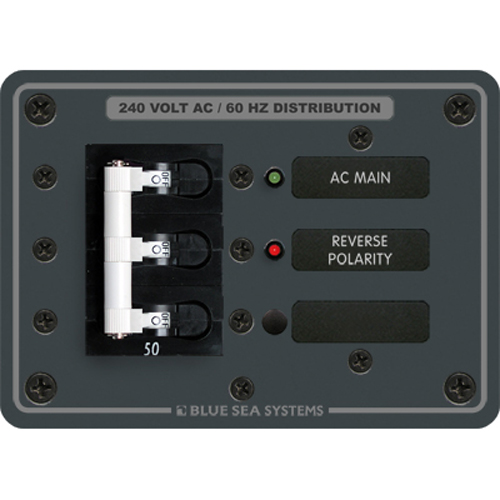 Blue Sea Systems 120/240V AC Main Circuit Breaker Panel