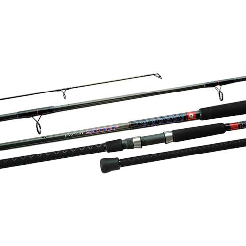 Daiwa 1102HFB Emcast Surf Spin Rod, Heavy Power, 25-50lb. Line Class, 11'3