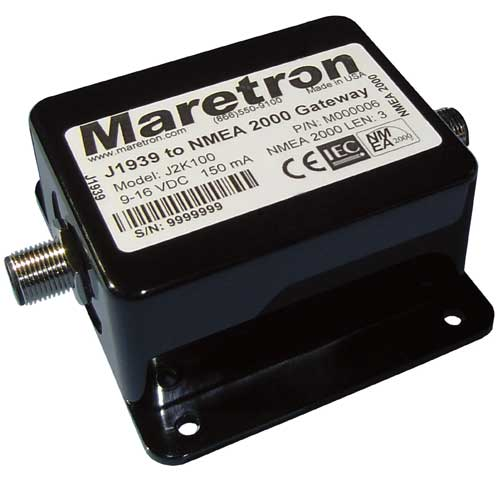 Maretron Adapter Micro female Deutsch Sale $99.99 SKU: 11115441 ID# MCF-2M-D12CAT UPC# 873804001463 :