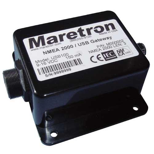 Maretron Gateway NMEA 2000 /USB Sale $294.99 SKU: 11115623 ID# USB100-01 UPC# 873804000039 :