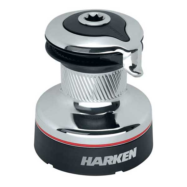 Harken#46 Radial Self-Tailing Chrome Two-Speed Winch Sale $1658.40 SKU: 11128121 ID# 46.2STC UPC# 97653218791 :