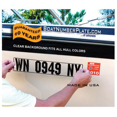 Boatnumberplate Rigid Hull Boat Number Plates Sale $21.99 SKU: 11142189 ID# BNPCLR UPC# 823022545263 :