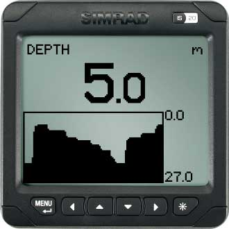 Simrad IS20 Graphic Display