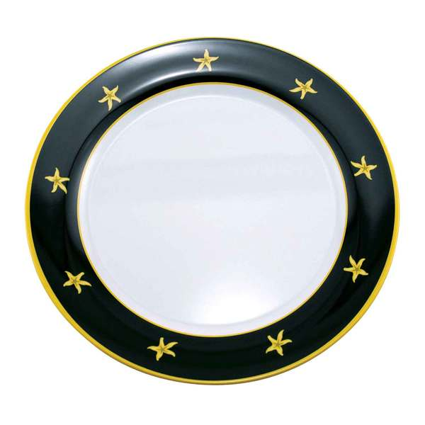 Galleyware Black Compass Serving Platter