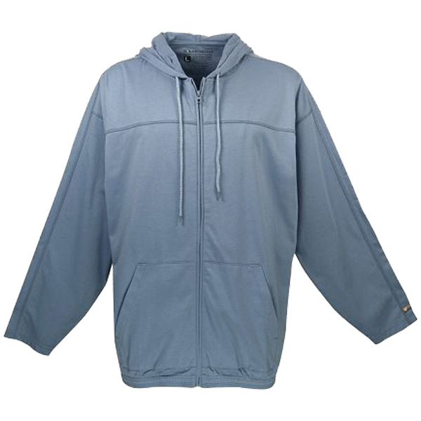 Men's Stellar Zip Hoody, Steel Blue, M
