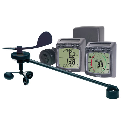 T108 Wireless Wind, Speed & Depth System with Triducer