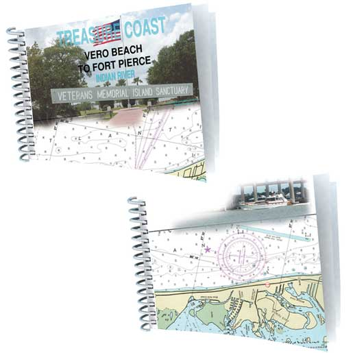 Coastal Charts Vero Beach to Fort Pierce 2 Page Custom Chart