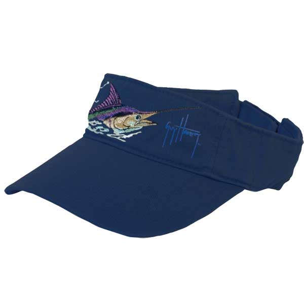 Marlin Head Visor, Navy