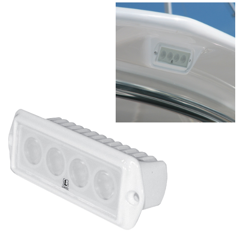 Lumitec Lighting Capri Flush-Mount Floodlight Sale $149.99 SKU: 11242484 ID# 101009 UPC# 89300102133 :