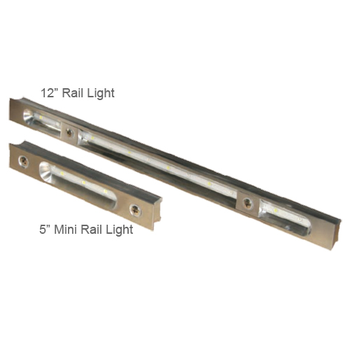 Lumitec Lighting 12 Rail Light, White/Blue Sale $119.99 SKU: 11242740 ID# 101017 UPC# 89300102218 :